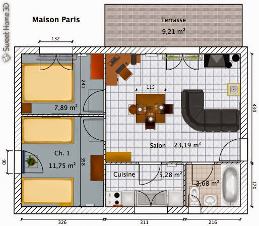 Software per costruire casa in 3d con sweet home 3d gratis for Programma per arredare casa