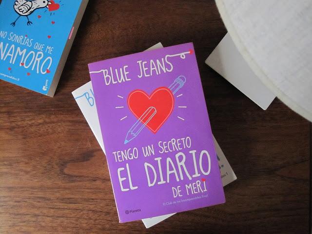 """Reseña: """"Tengo un Secreto: el Diario de Meri"""", de Blue Jeans"""