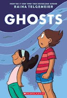 Ghosts: nuovo graphic novel di Raina Telgemeir