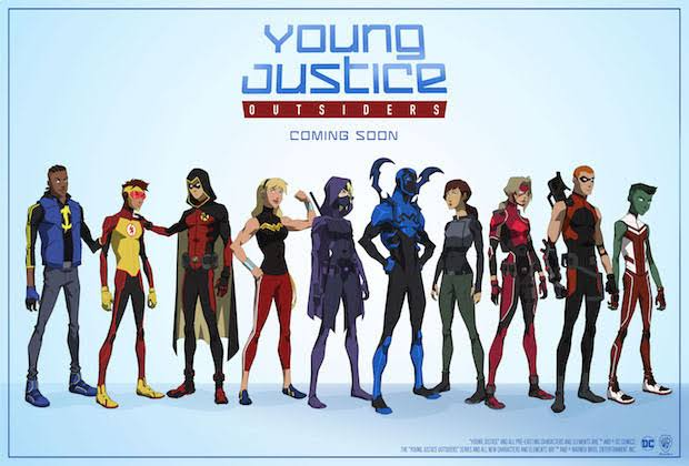 Young Justice Outsiders!