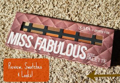 Ulta + Jenny Fox- Miss Fabulous Palette