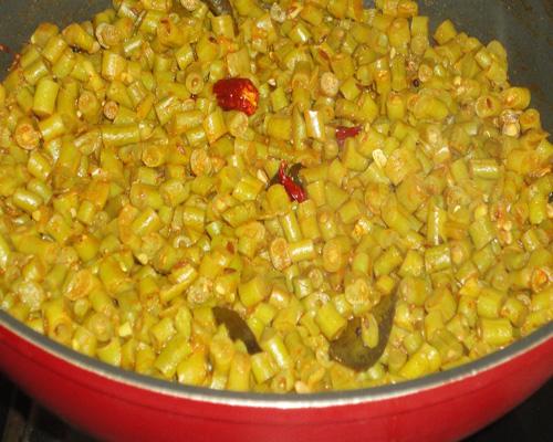 stir the upkari well