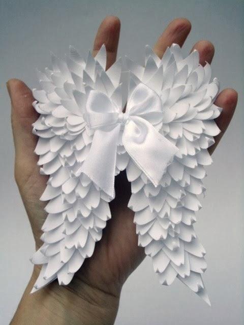 Angel Wings Birthday Cake