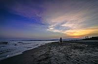 San Juan Beach Fisherman Day's End