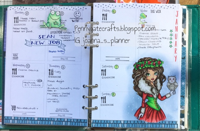 planner-stamping-new-year-12th night-jo
