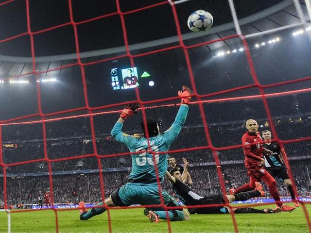Robben Nantikan Duel Tersulit Lawan Arsenal
