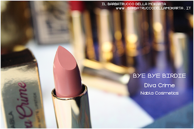 BYE BYE BIRIDIE REVIEW diva crime goldust collection Nabla cosmetics
