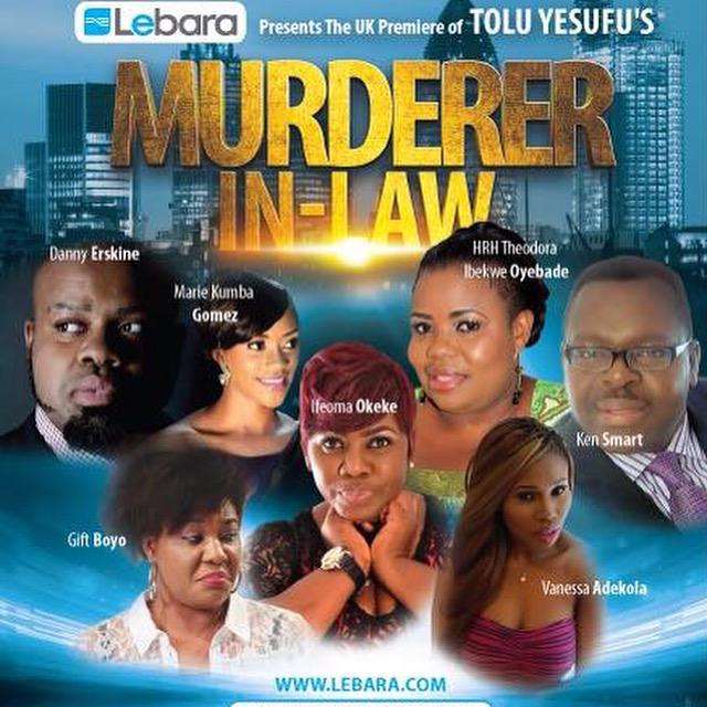 Murderer In-Law London Premiere