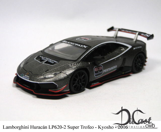 diecast cwb 1 64 collection lamborghini hurac n lp620 2 super trofeo. Black Bedroom Furniture Sets. Home Design Ideas