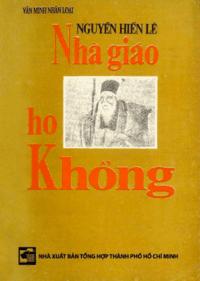 Nhà Giáo Họ Khổng - Nguyễn Hiến Lê