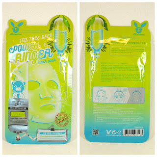 Elizavecca Power Ringer Mask Pack - Tea Tree Deep