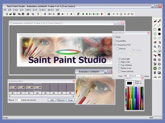 تحميل برنامجالرسام للكمبيوتر Saint Paint Studio
