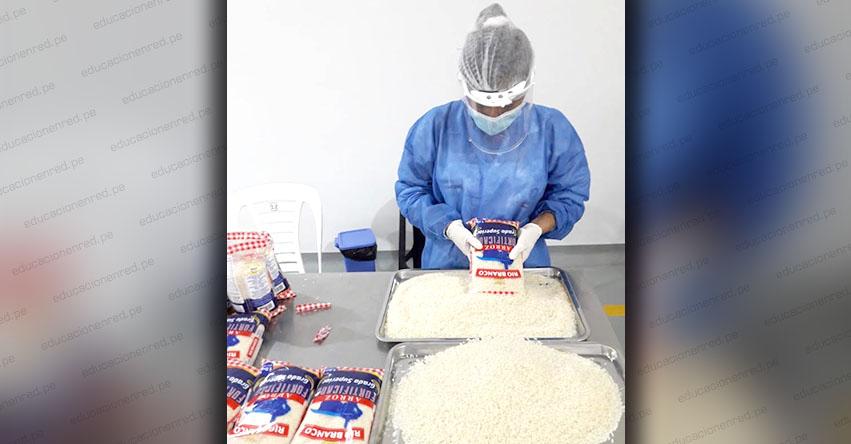 QALI WARMA: Programa social entrega 175.5 toneladas de arroz fortificado a 2 mil 591 instituciones educativas públicas en la región San Martín - www.qaliwarma.gob.pe