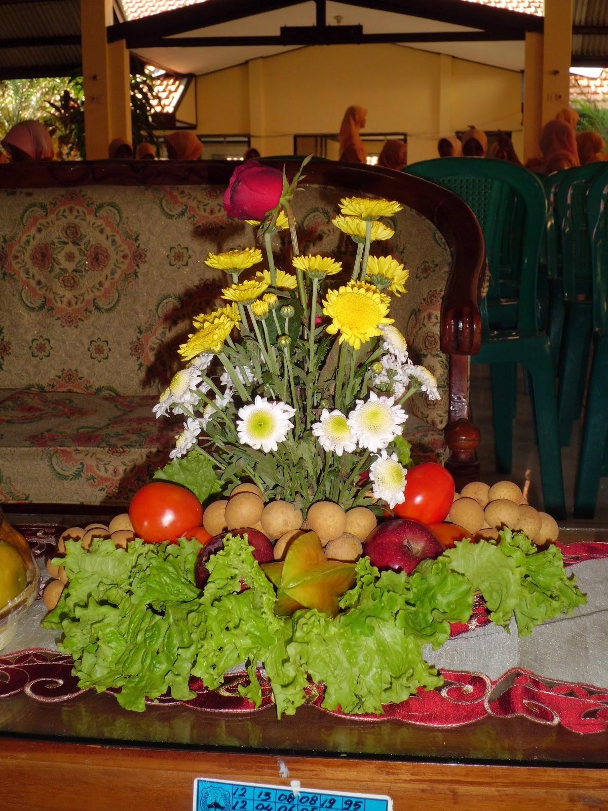 Kreasi Seni Budaya Merangkai Bunga