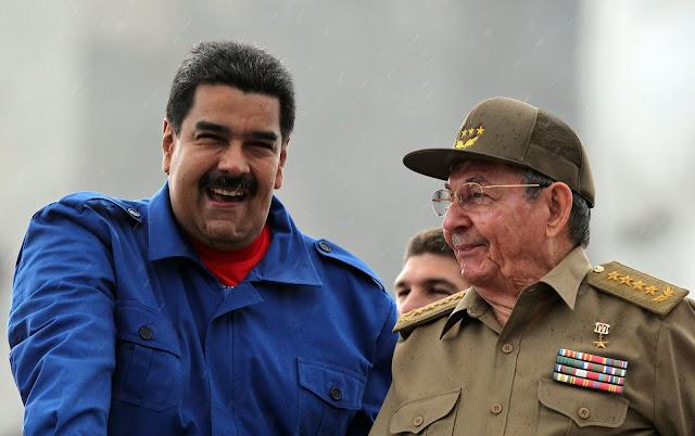Resultado de imagem para cuba comanda a venezuela