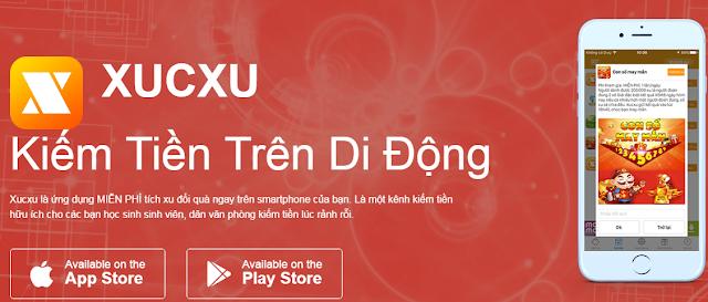 xucxu kiem the cao,xucxu cho android,xucxu kiem tien online,xucxu ios,kiemthecao.com