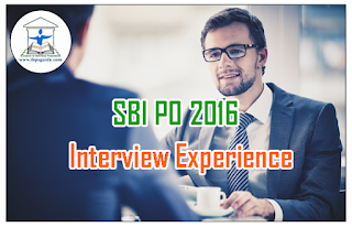 SBI PO 2016 – Interview Experience