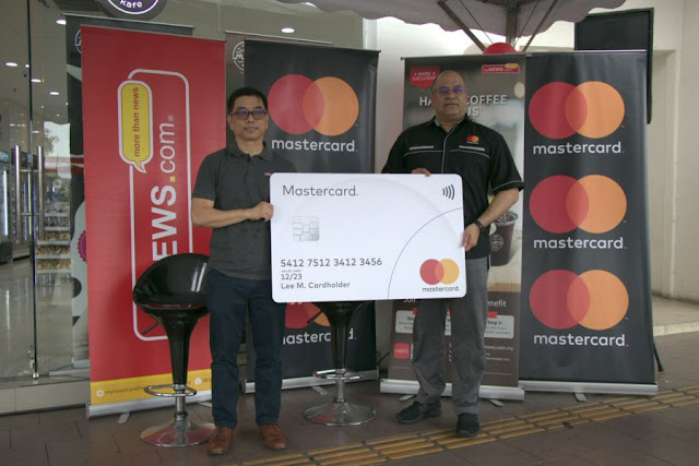MyNEWS app launched, partnership with Mastercard