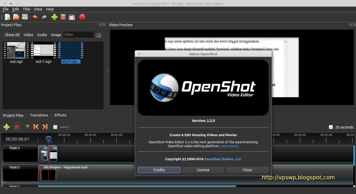 Cara install openshot di linux mint ubuntu cara menggunakan openshot cara menggunakan openshot video editor cara