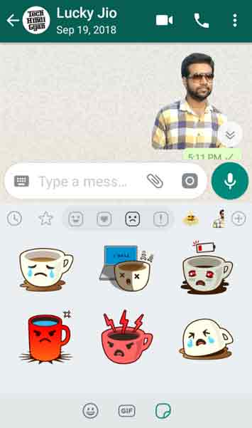 Send Stickers on WhatsApp, WhatsApp Stickers Feature को कैसे Enable / Active करें | Stickers Feature को Download और Use कैसे करें