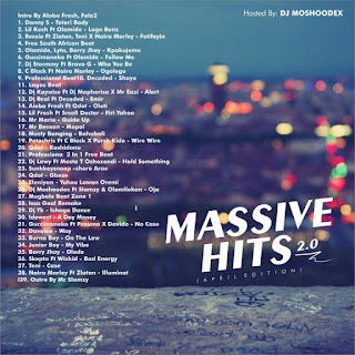 Mixtape] Dj Moshoodex – Massive Hits Vol  2 (April Edition
