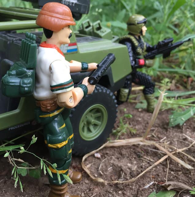 1988 Tiger Force Bazooka, Night Force Crazylegs, 1982 VAMP