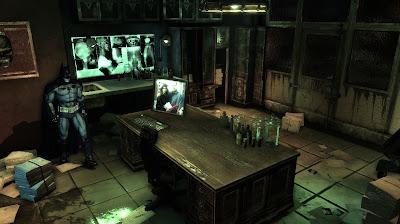 Batman Arkham Asylum environnement détaillé