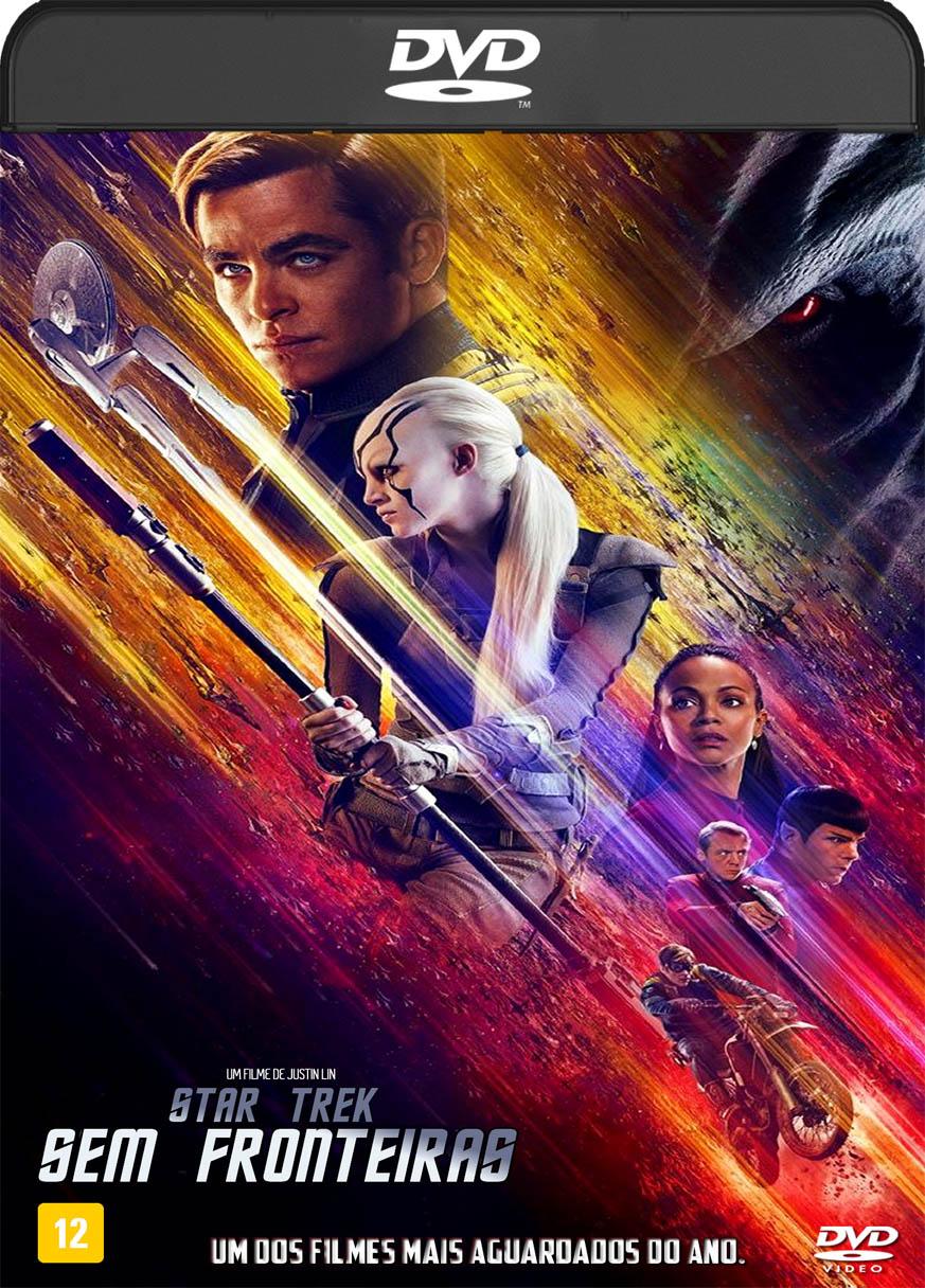 Star Trek Sem Fronteiras (2016) DVD-R Oficial
