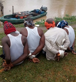Ex-Militants Leader ARRESTS 4 Niger Delta Avengers Members, See Photo