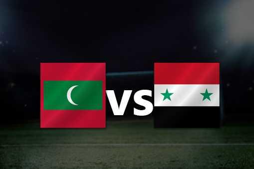 اون لاين مشاهدة مباراة سوريا و جزر المالديف ١٠-١٠-٢٠١٩ بث مباشر في تصفيات اسيا المؤهله لكاس العالم اليوم بدون تقطيع