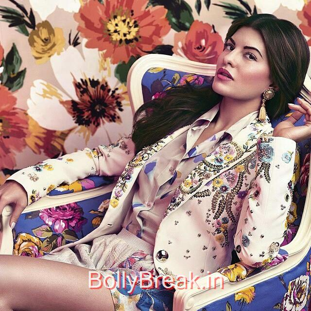 jacqueline fernandez shoot for harpers bazaar april issue.   bollywood magazines , insta bollywood , bollywood , jacqueline fernandez , harpers bazaar , harpers bazaar india ,, Jacqueline Fernandez Harper's Bazaar Scans - April 2015