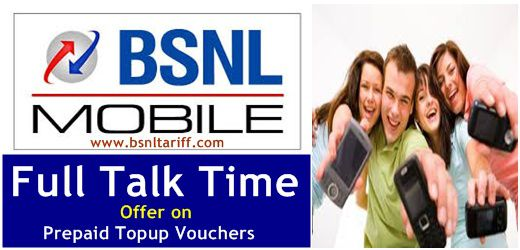 Bsnl Prepaid Full Talk Value offer in Punjab circle