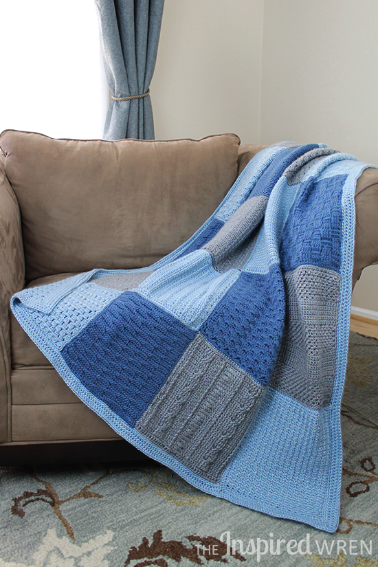 Gorgeous! 2015 Crochet Along Afghan Sampler | The Inspired Wren