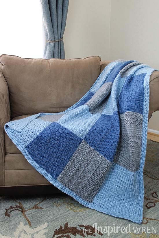 Gorgeous! 2015 Crochet Along Afghan Sampler | The Inspired Wren