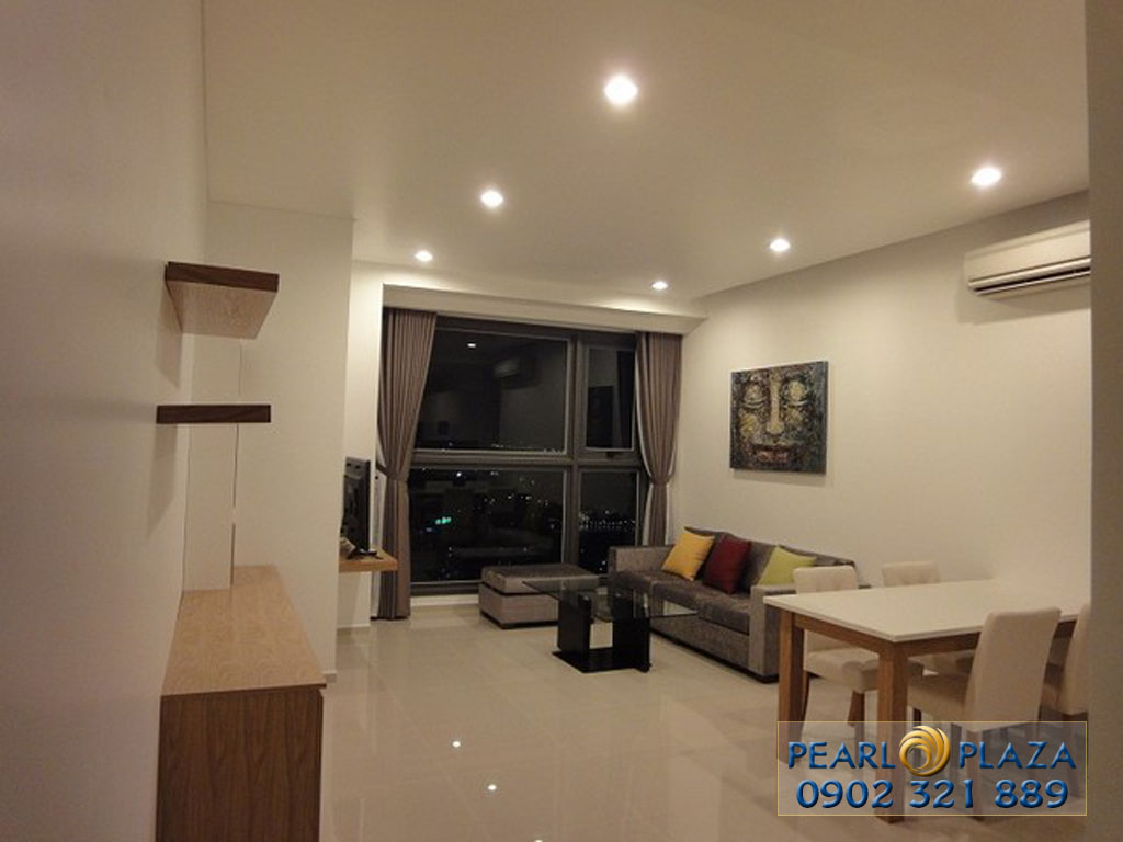 3-bedroom apartment for rent at Pearl Plaza full of beautiful furniture - picture 2