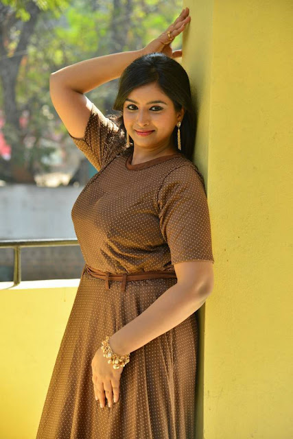 Poorni Stills At Student Power Movie Audio Launch