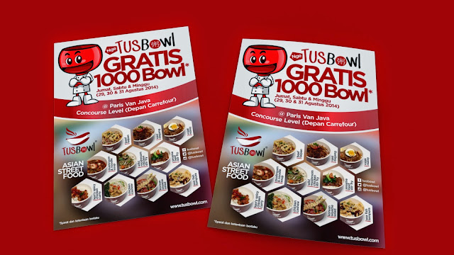 Tusbowl Brochure Design