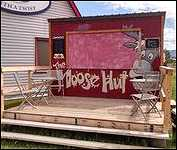 The Moose Hut Ice-Cream
