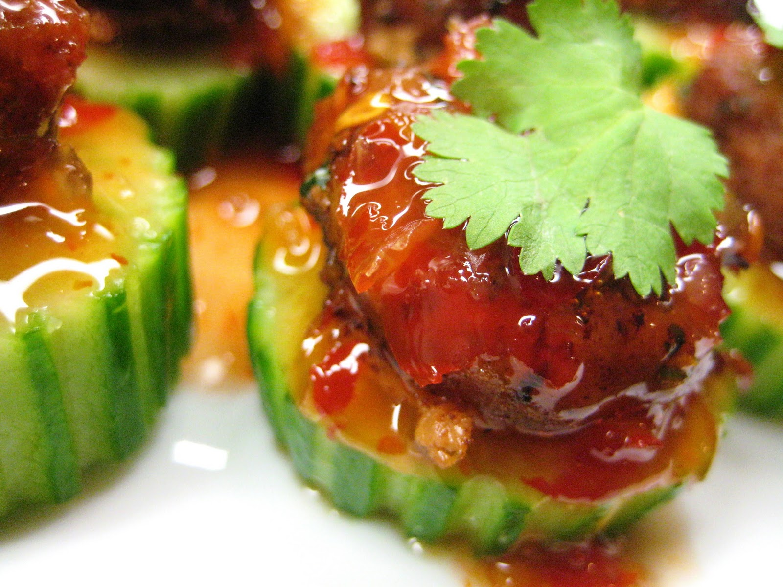 Let S Eat Simple Ground Turkey Mini Balls And Cucumber