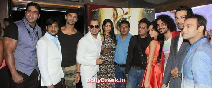 Varinder Singh, Aaran Chaudhary, Ali Quli Mirza, Himarsha Venkatsamy, Kamal Sadanah, Abis Rizvi, Naura Fathi, Aadil Chahal, Celebs at 'Roar' Movie First Look Launch