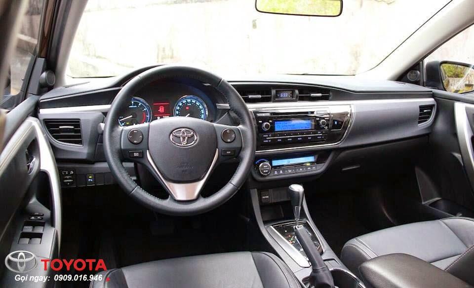 altis 18 2014 noi that toyota tan cang -  - So sánh Toyota Corolla Altis 1.8G và 2.0V 2015 - Chiếc xe nào phù hợp với bạn hơn ?