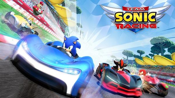 لعبة Team Sonic Racing تستفيد من 8 دقائق بالفيديو لاستعراض طريقة اللعب و مشاهد رائعة جدا..