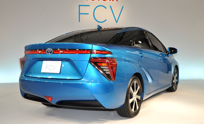 Toyota Fuel Cell Vehicle - rear view