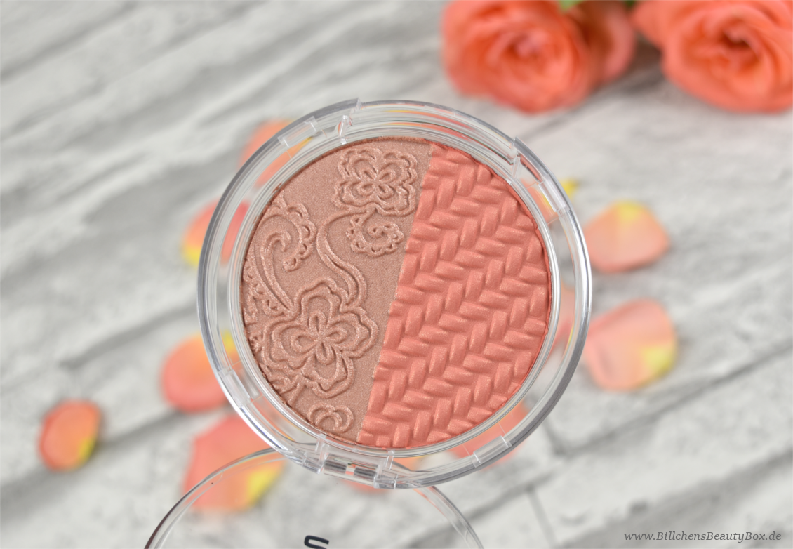 p2 cosmetics - Retro Repats - remember me duo highlighter