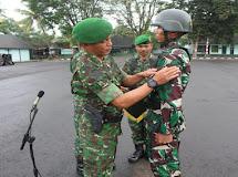 Rindam XIII/Merdeka Buka Dikmata TNI AD Gelombang I TNI AD TA. 2019