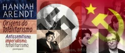 Resultado de imagem para hannah arendt totalitarismo