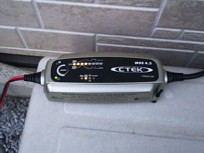 CTEK  MUS4.3 バッテリーチャージャー