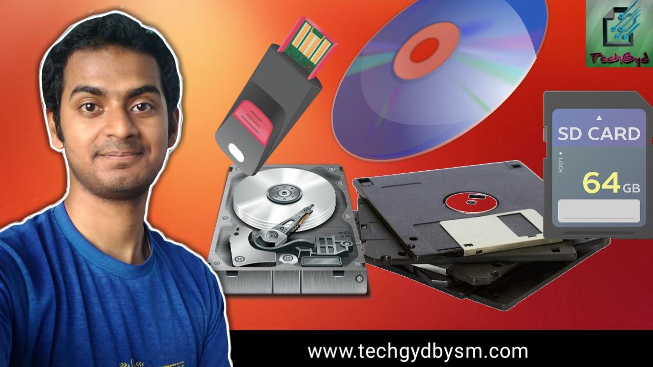 evolution of Storage Devices