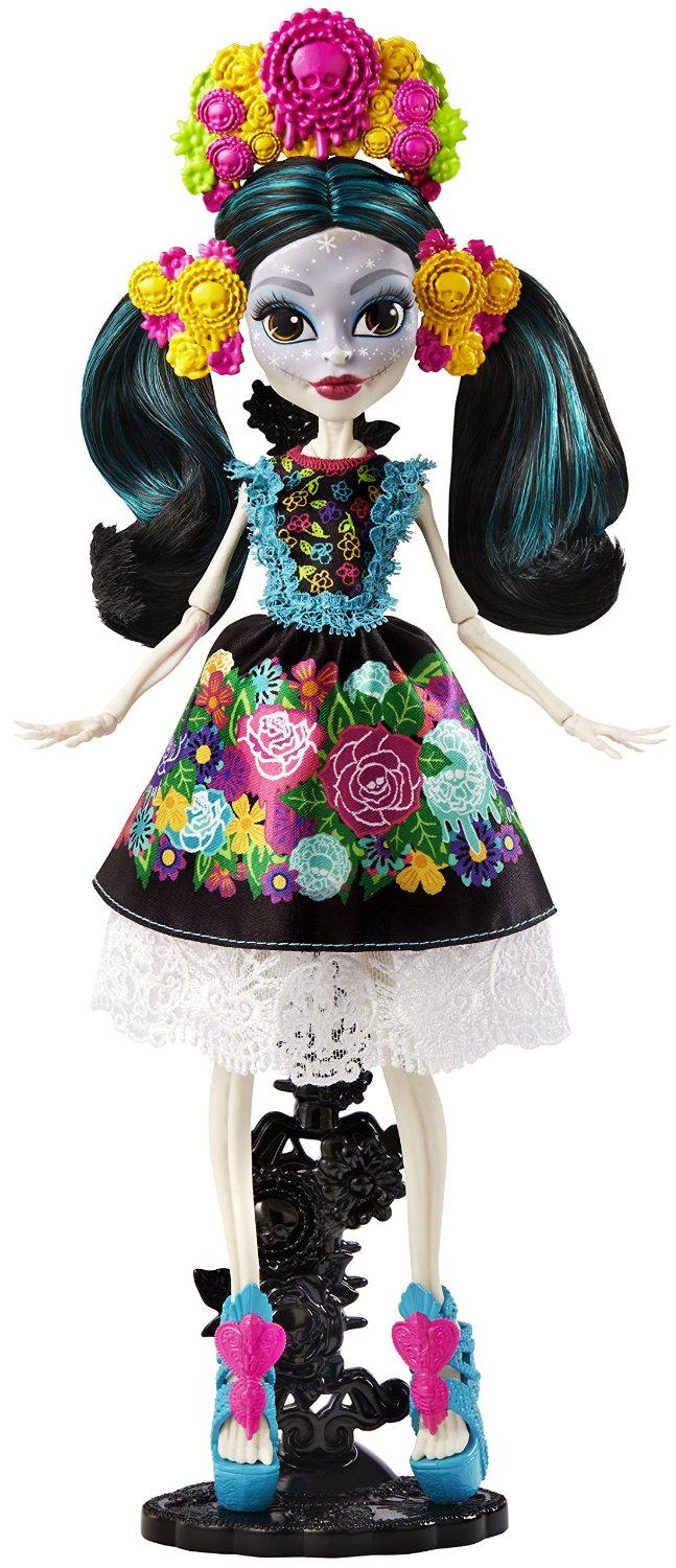 jamies toy blog monster high deluxe skelita calaveras doll