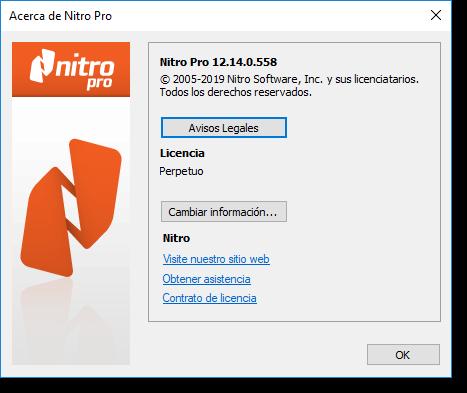 Nitro Pro Enterprise v12 14 0 558 Español, Cree y Edite